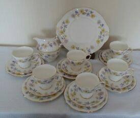 Duchess China 21 Piece Tea Set