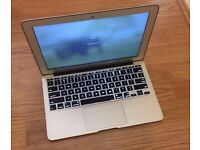 Apple MacBook AIR (Laptop) 11-inch x Silver / Chrome + Charger £400