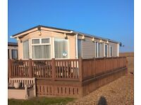 static caravan for sale at the North denes caravan park in Lowestoft Suffolk.