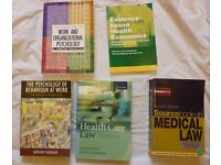 Health Care study books - used for Masters in Health care management.