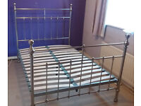 Double Bed frame, metal - from Dreams