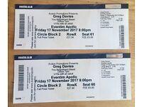 Greg Davies Eventim Apollo London Friday 17th November
