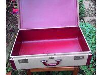 Large Vintage Suitcase Mayfair VGC