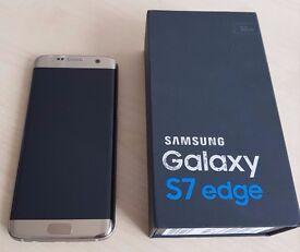 Samsung S7 Edge Gold 32GB - Unlocked to any network - New