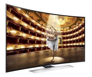 """SAMSUNG 65"""" LED 4K 3D SMART CURVED UHDTV 9000 SERIES *NEW IN BOX*"""