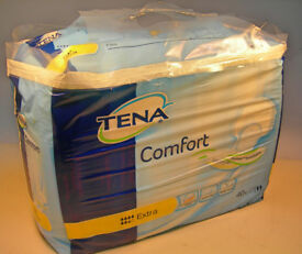 Tena Comfort Extra Pads x2 Packs each Pack 40 Pads (WH_1151)