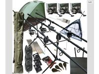 Full carp set up perfect for beginners.