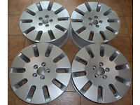 BARGAIN! 18'' Genuine OEM AUDI Alloys * 4E0 601 025 Q * VW SEAT 5x112 * Like NEW!