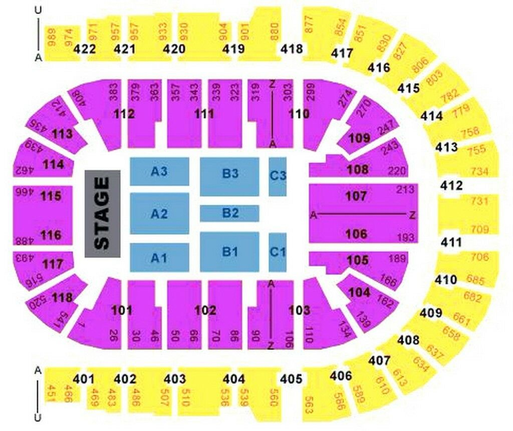 Elbow Tickets X2 Great Seats Blk 101 Row S London O2