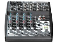 Behringer 802 XENYX Small Format Mixer - 8 input 2 bus mixing desk