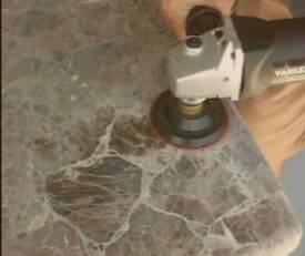 Granite and marble polishing