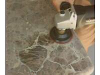 Granite and marble polishing