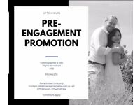 PRE-ENGAGEMENT SHOOT: 2 HOURS £135 & PROMOTIONAL OFFER FOR ENGAGEMENTS