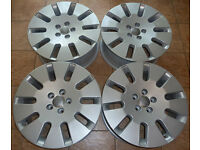 18'' Genuine AUDI Alloy wheels - Winters - MINT! VW SEAT