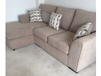 Fabulous Corner sofa (small factory defect ) and matching Armchair