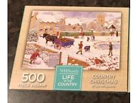 500 piece jigsaw - Country Christmas