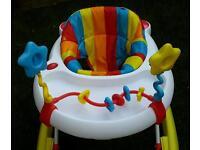 Mothercare stripe baby walker