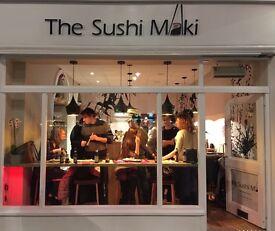 Waiting Staff Needed - THE SUSHI MAKI