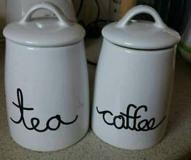 Classic Coffee & Tea Pots/ Containers