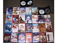 Christmas Films DVD Job Lot