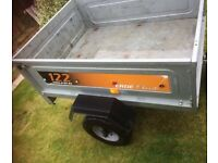 TRAILER ERDE 122 ALL GALVANISED 4' x 3' – EXCELLENT CONDITION