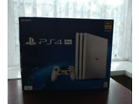 PS4 Pro White 1TB Brand New Boxed on Rare Firmware 4.73 like 5.05