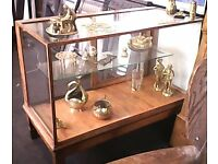 Old Glass Display Cabinet