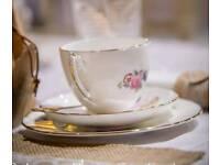 Bulk Vintage Afternoon Tea Set including Cake stands