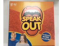 Brand New Speak Out Board Party Game Speakout Xmas Gift (£6.50 PER UNIT) WHOLESALE ONLY