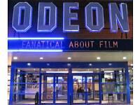 Odeon cinema tickets 4 pounds Cineworld cinema tickets 6 pounds
