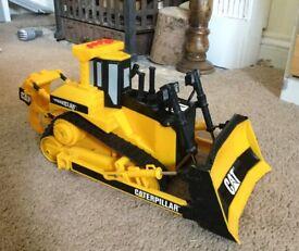 Caterpillar power machine vehicle toy