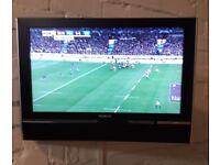"""Humax 23"""" Wall mounted LCD TV"""