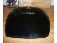 George Foreman 18870 Five 5 Portion Family Non Stick Grill, Black