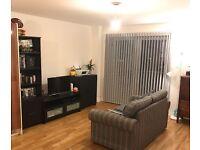 Living room black set storage/furniture