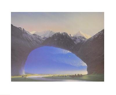 Hans Werner Sahm Reise ins Licht Poster Kunstdruck Bild 40x50cm