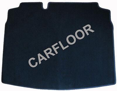Kofferraumteppich passend für Porsche Cayenne Velours Deluxe mit Doppelnaht rot