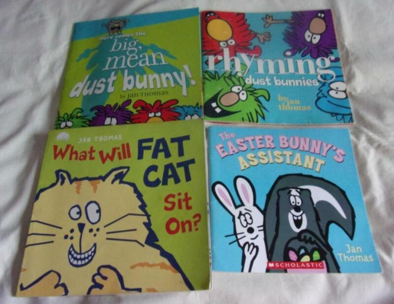 Set of 4 Jan Thomas picture books