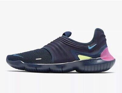 Nike Free RN Flyknit 3.0 ~ AQ5707 400 ~ Uk Size 9 ~ Euro 44