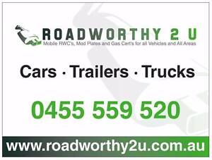 Roadworthy and Gas Certificates Hervey Bay Burrum River Maryborou Dundowran Fraser Coast Preview