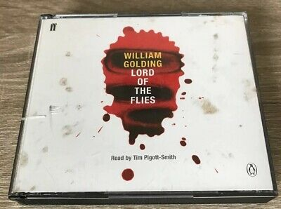 LORD OF THE FLIES by William Golding (CD-Audio, 1999) AUDIO BOOK (Lord Of The Flies By William Golding Audio)