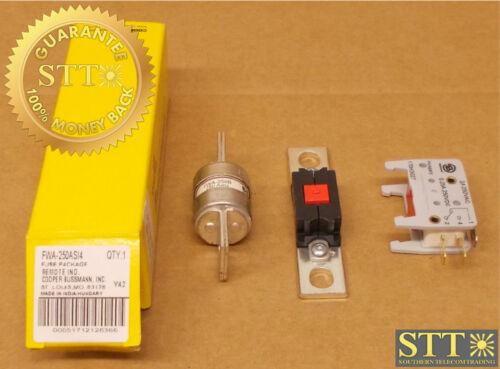 Fwa-250asi4 Bussman Fwa-250b Fuse W/ Indicator Assembly New
