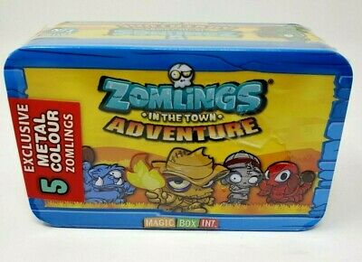 Exclusive! Metal Colour Zomlings