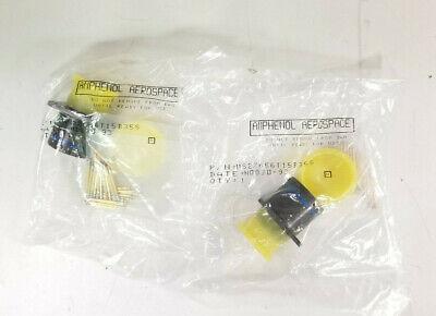 Lot Of 2 Amphenol Aerospace Circular Mil-spec Connector Ms27656t15b35s