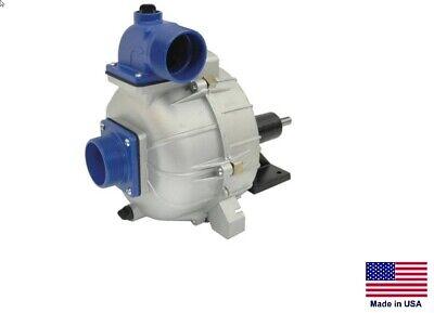 Trash Pump - Belt Drive Commercial - Cast Iron - 44 Psi - 2 Ports - 8280 Gph