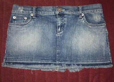 Dkny Stretchy Jean Skirt Size 9