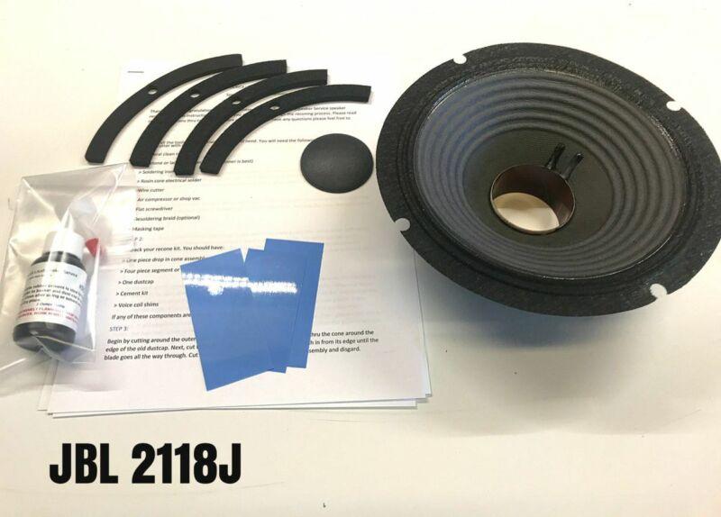 "Reproduction One Piece Recone Kit for JBL 2118J 8"" Loudspeaker"