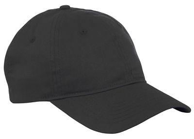 Big Accessories 6 Panel Hat Twill Cotton Unstructured Low Profile Cap. BX880