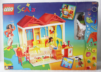 RARE 1998 LEGO SCALA 3118 FUNKY FASHION SHOP BOUTIQUE NEW INCOMPLETE?