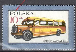 Poland 1987 Motor Vehicles - error Mi. 3093 - MNH(**) - <span itemprop=availableAtOrFrom>Cieszyn, Polska</span> - Poland 1987 Motor Vehicles - error Mi. 3093 - MNH(**) - Cieszyn, Polska