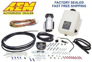 GENUINE AEM 30-3300 Water Methanol Injection Kit 1 Gallon Tank V2 w/ MAP Sensor